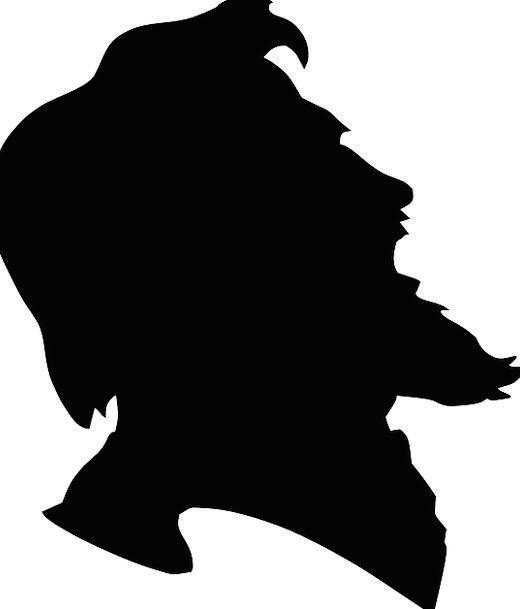 520x609 Man, Gentleman, Skull, Beard, Goatee, Head, Historic, Old, Ancient