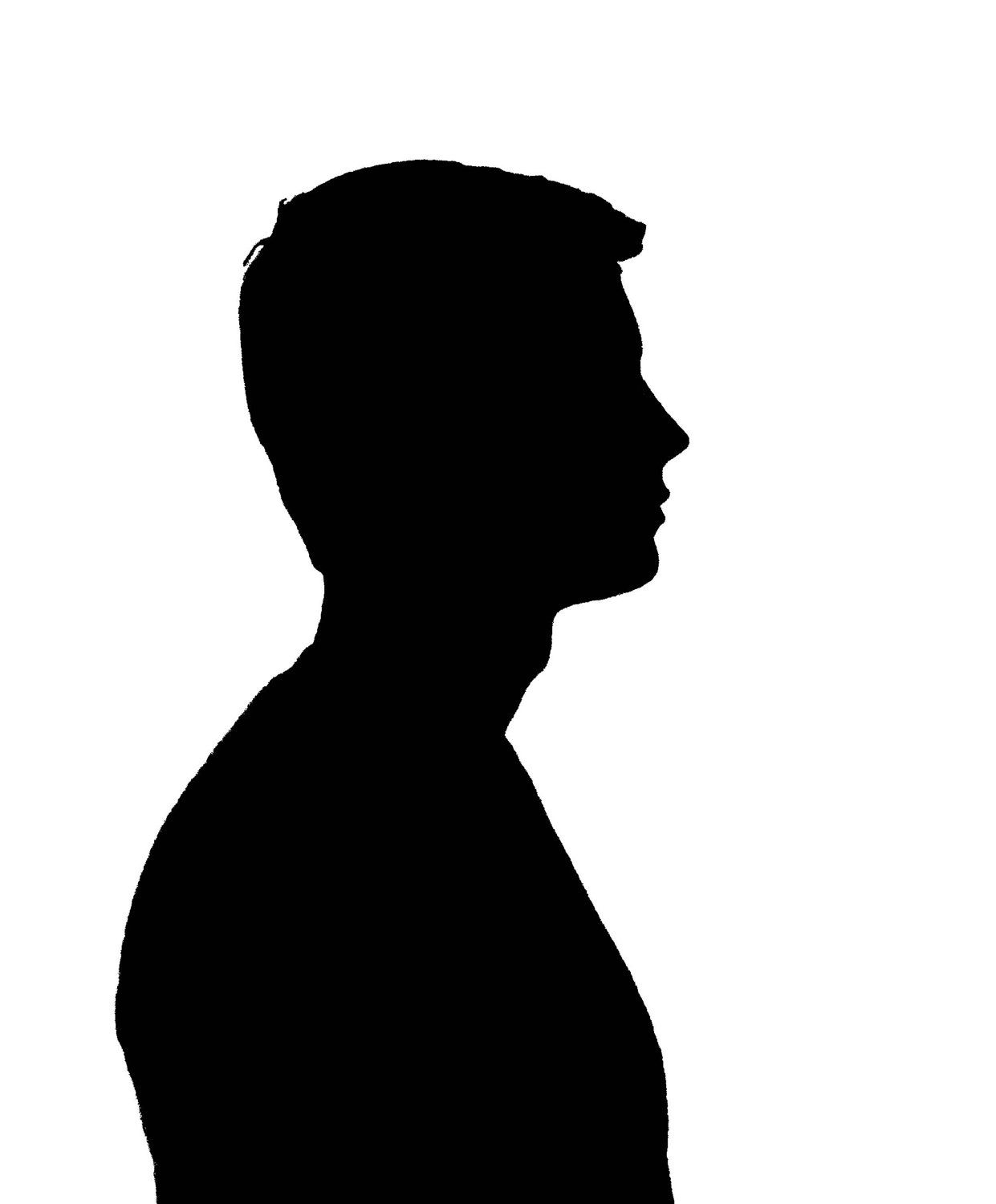 1241x1500 Silhouette Of Young Man