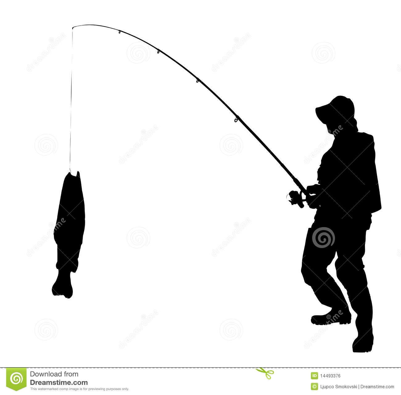 1300x1282 Man Fishing Silhouette Clipart Panda