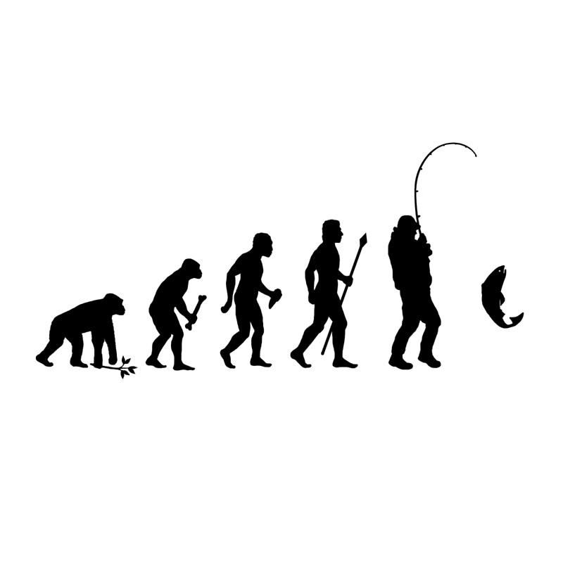 800x800 Evolution Of Man And Fishing Drawstring Bags By Beyondevolved