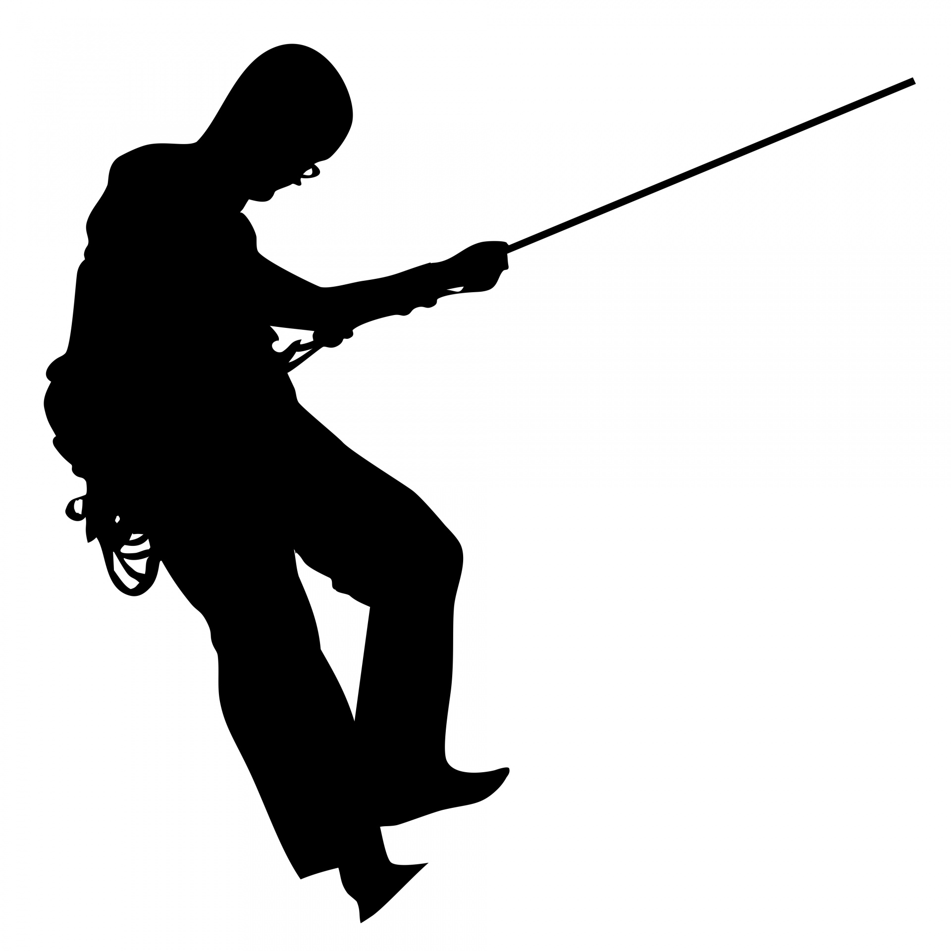 1920x1920 Fishing Man Free Stock Photo