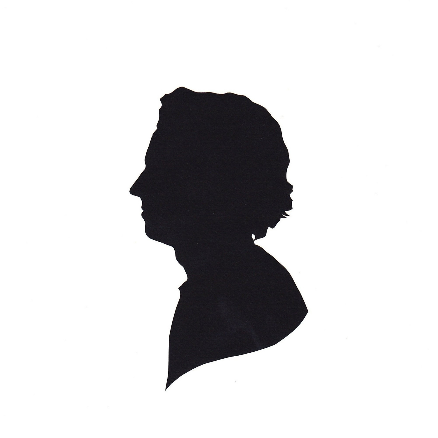1500x1500 Pix For Silhouette Head Man