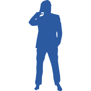 300x300 Thinking Man Silhouette Clipart, Cliparts Of Thinking Man