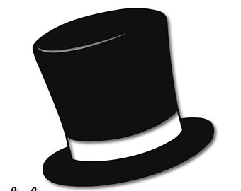 man in hat silhouette at getdrawings com free for personal use man rh getdrawings com snowman top hat clipart snowman hat clipart black and white