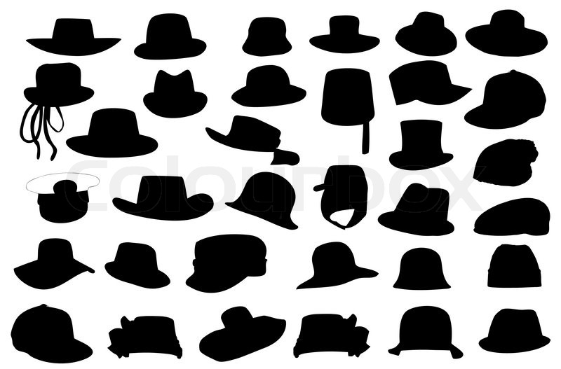 800x527 List Of Synonyms And Antonyms Of The Word Hat Silhouette