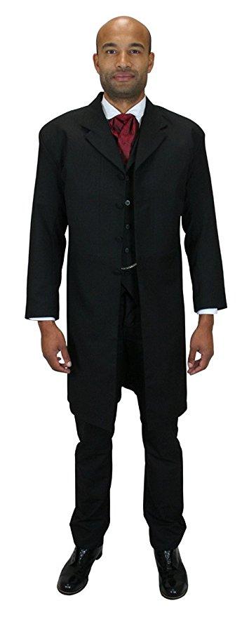 355x879 Historical Emporium Men's Callahan Frock Coat