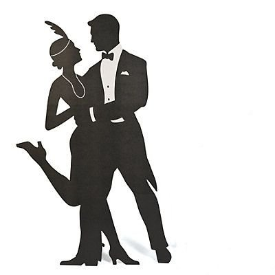 Man In Tux Silhouette