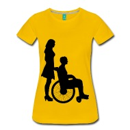190x190 Woman Pushing Man In Wheelchair Silhouette By Martmel Cus