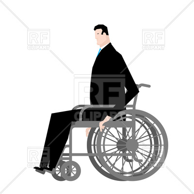 400x400 Businessman In Wheelchair