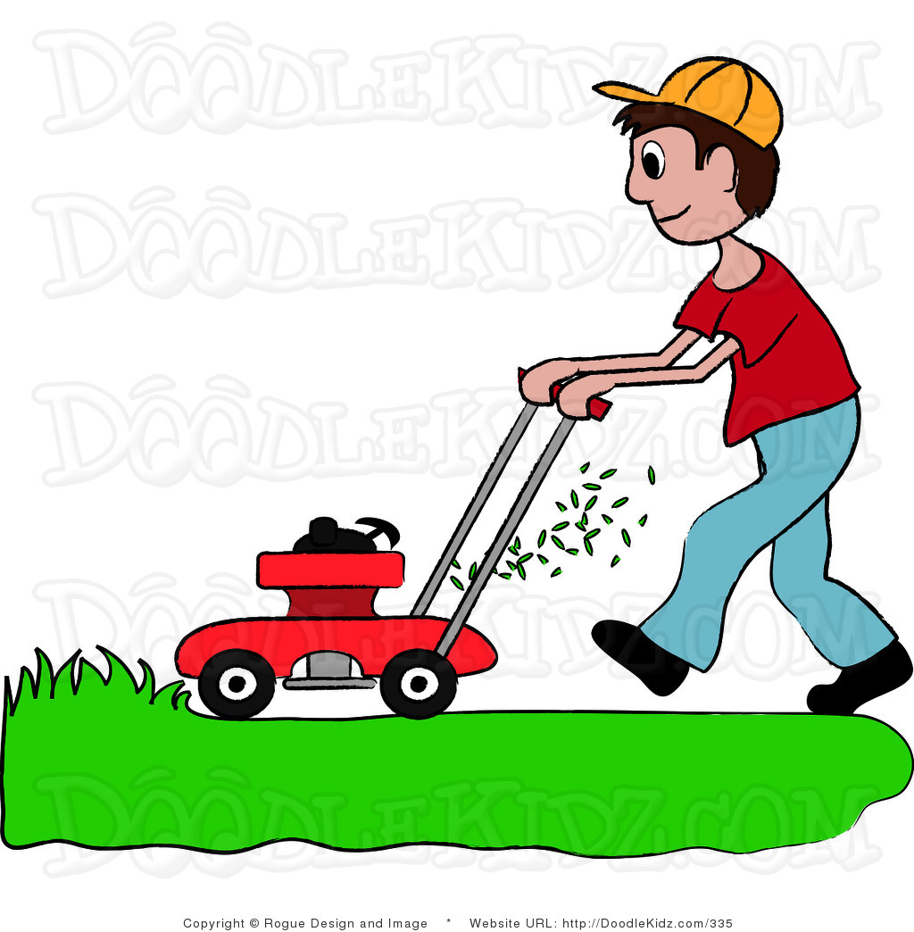 man mowing lawn silhouette at getdrawings com free for personal rh getdrawings com lawn mower clipart vector lawn mower clip art icon free