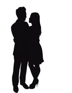 236x302 Old Couple Walking Away Silhouette Of An Old Couple Keeping