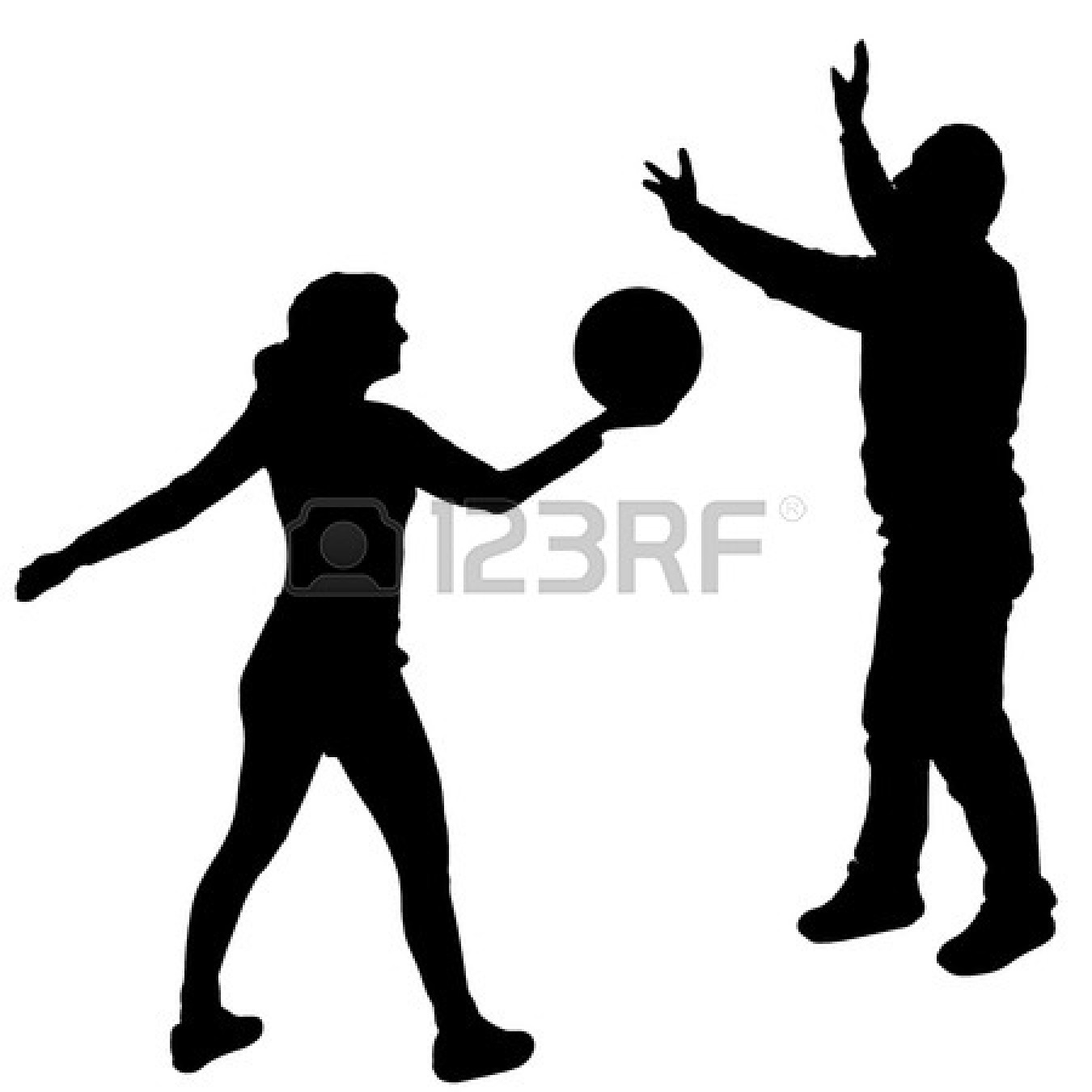 1350x1350 Volleyball Player Hitting Silhouette Clipart Panda