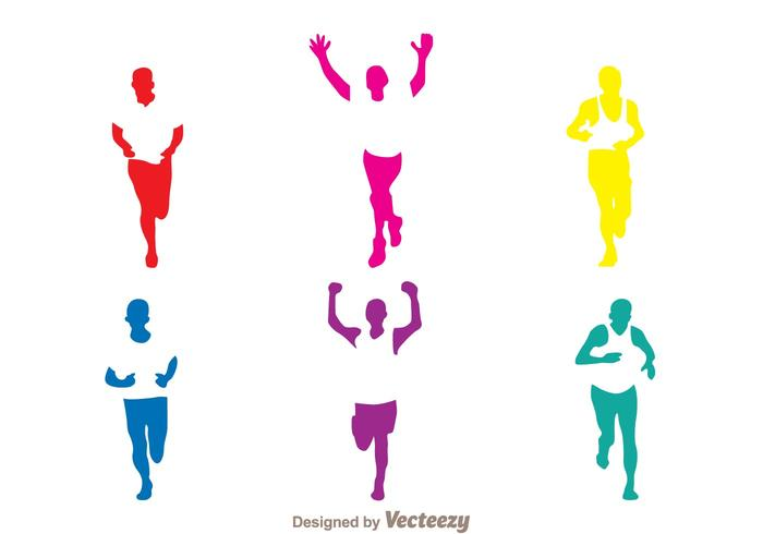 700x490 Running Free Vector Art