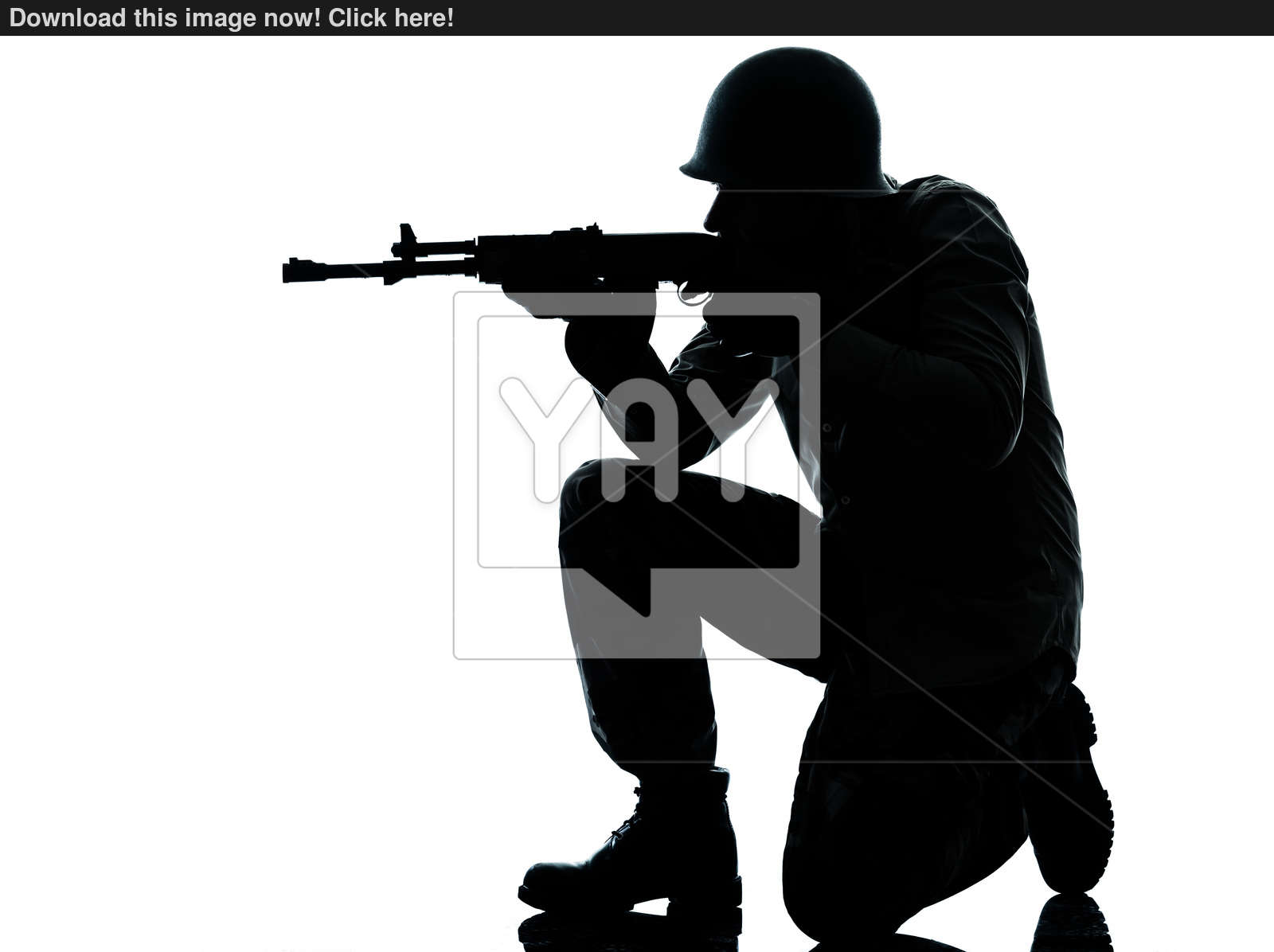 1600x1196 Army Soldier Man Shooting Silhouette Image