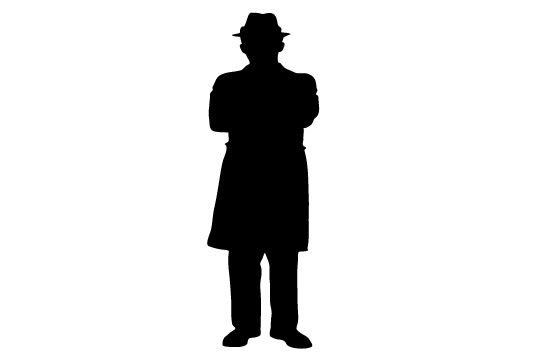 550x354 Free Man Silhouette Clip Art Clip Art, Silhouettes And Free