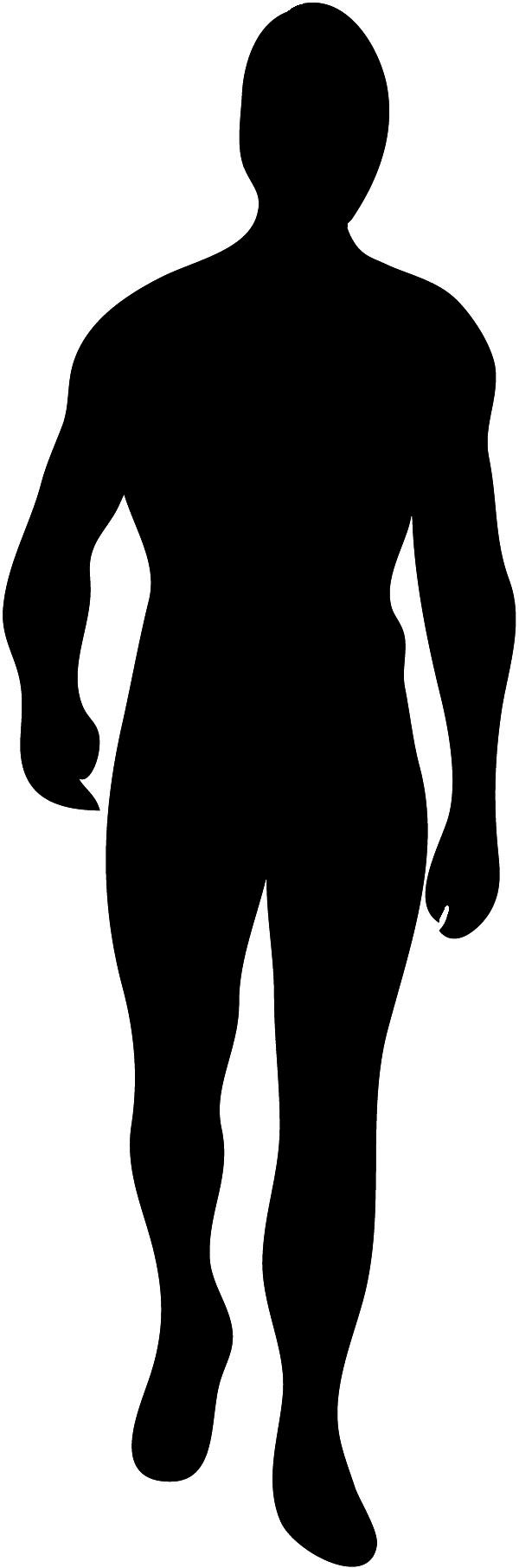 600x1813 Body Silhouettes