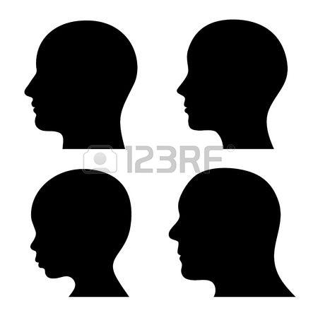450x450 Person Clipart Silhouette Head Amp Person Clip Art Silhouette Head