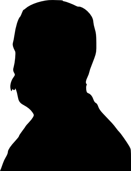 456x593 Man Silhouette Clip Art Free Vector 4vector