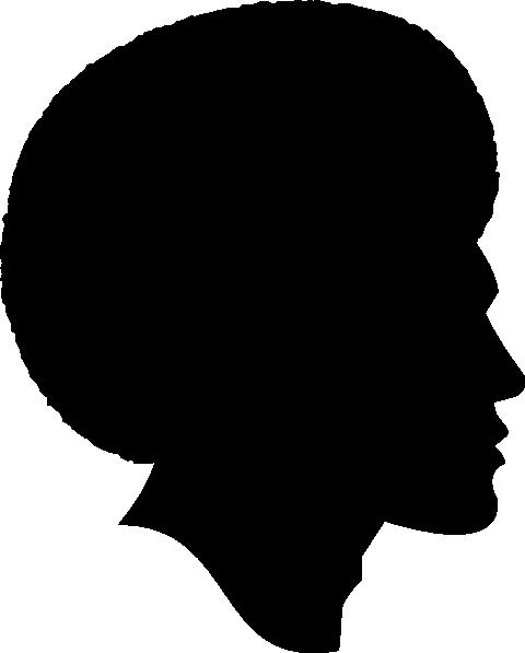 480x597 Black Hair Clipart Man Vector