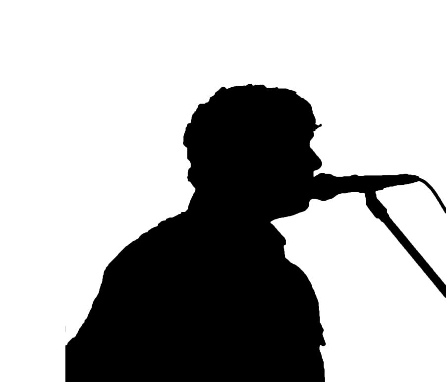 900x771 Singer Silhouette Digital Art By Mayo