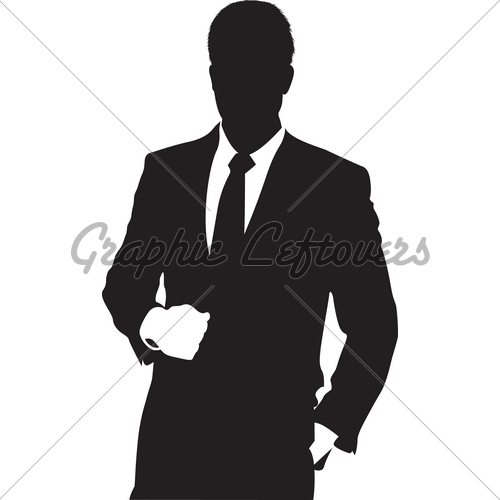 500x500 Man In Suit Gl Stock Images