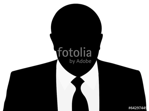 500x374 Man Suit Silhouette Stock Image And Royalty Free Vector Files
