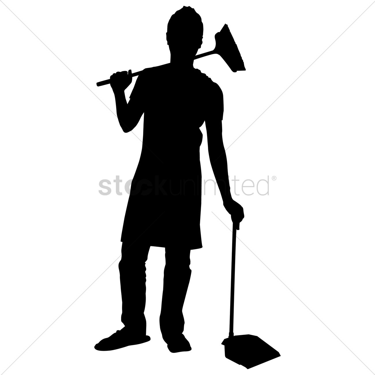 1300x1300 Free Silhouette Of A Man Vector Image