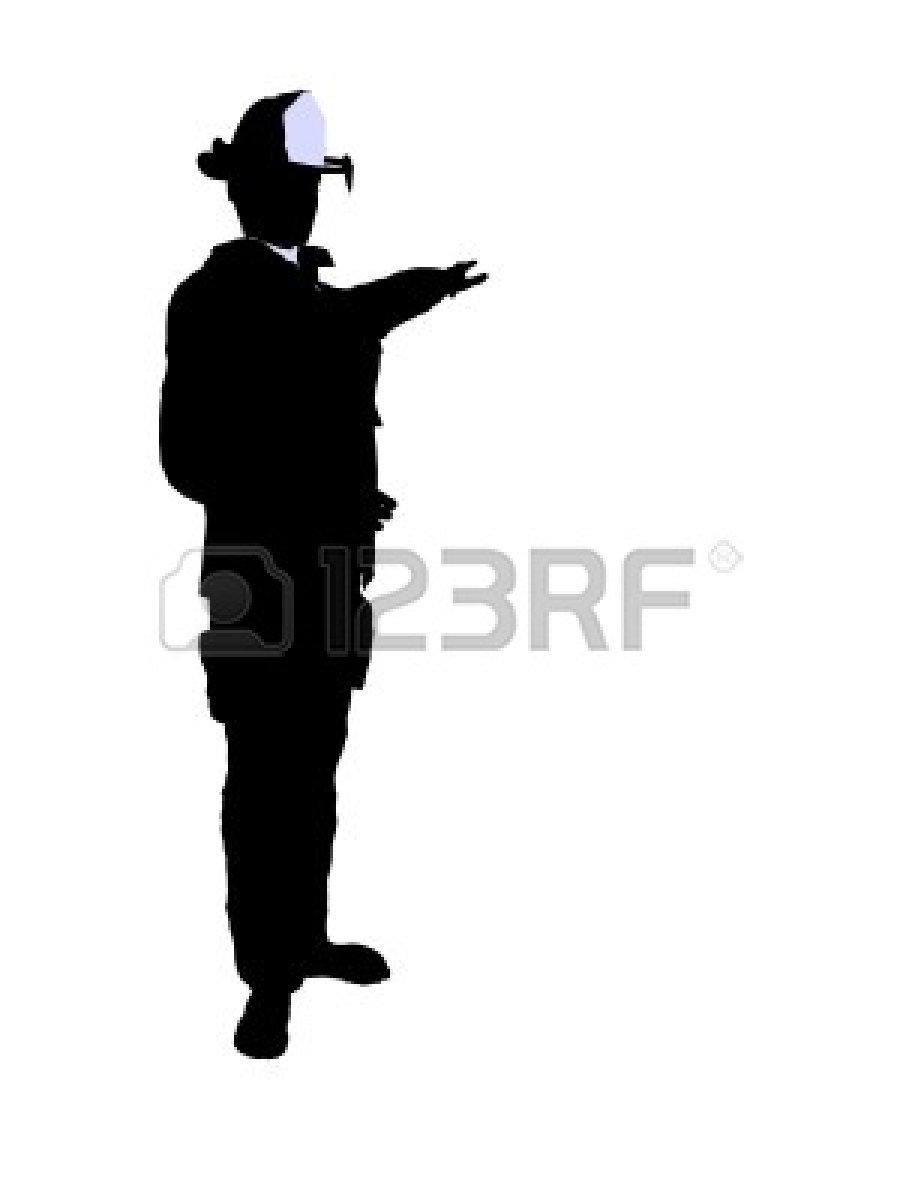 900x1200 Firefighter Silhouette Clip Art Clipart Panda