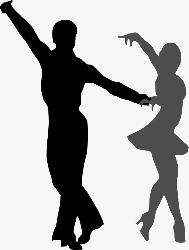 650x861 Dancing Material For Men And Women, Dancing Silhouette, Dancing