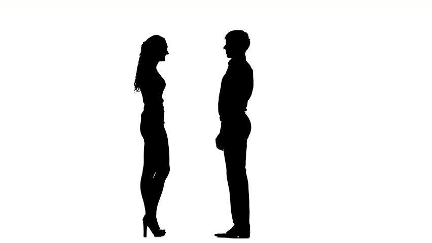 852x480 Silhouette Man And Woman Collection