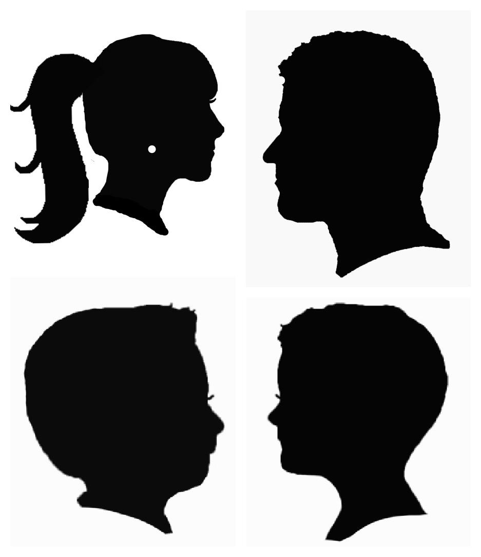 937x1085 Woman Head Clipart Silhouette Collection