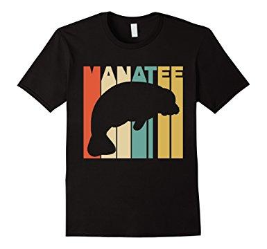 Manatee Silhouette