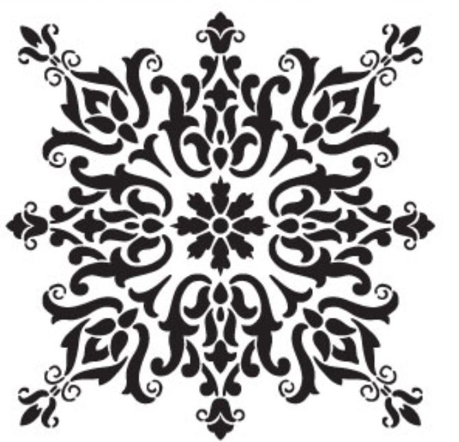669x644 Pin By On Stencil Stenciling, Patterns
