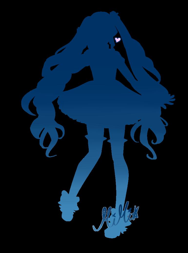 Manga Silhouette
