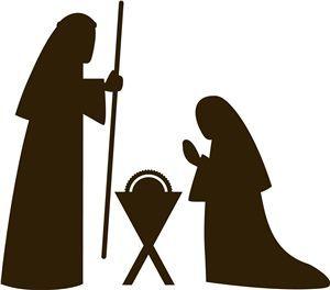 300x264 Nativity Silhouette Pattern B891efeefb2baf1a3d056377d358494a.jpg
