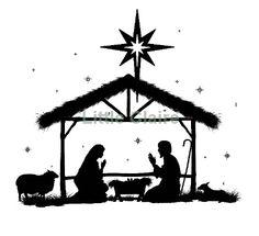 manger silhouette clip art at getdrawings com free for personal rh getdrawings com Black and White Clip Art November christmas manger clipart black and white