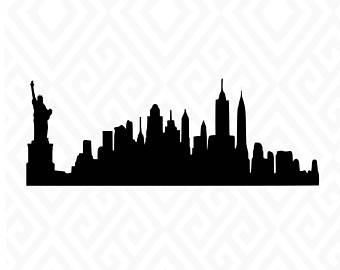 340x270 New York Silhouette Etsy