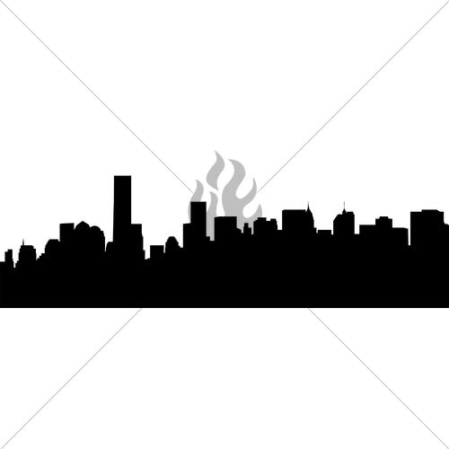 500x500 Manhattan Skyline Gl Stock Images