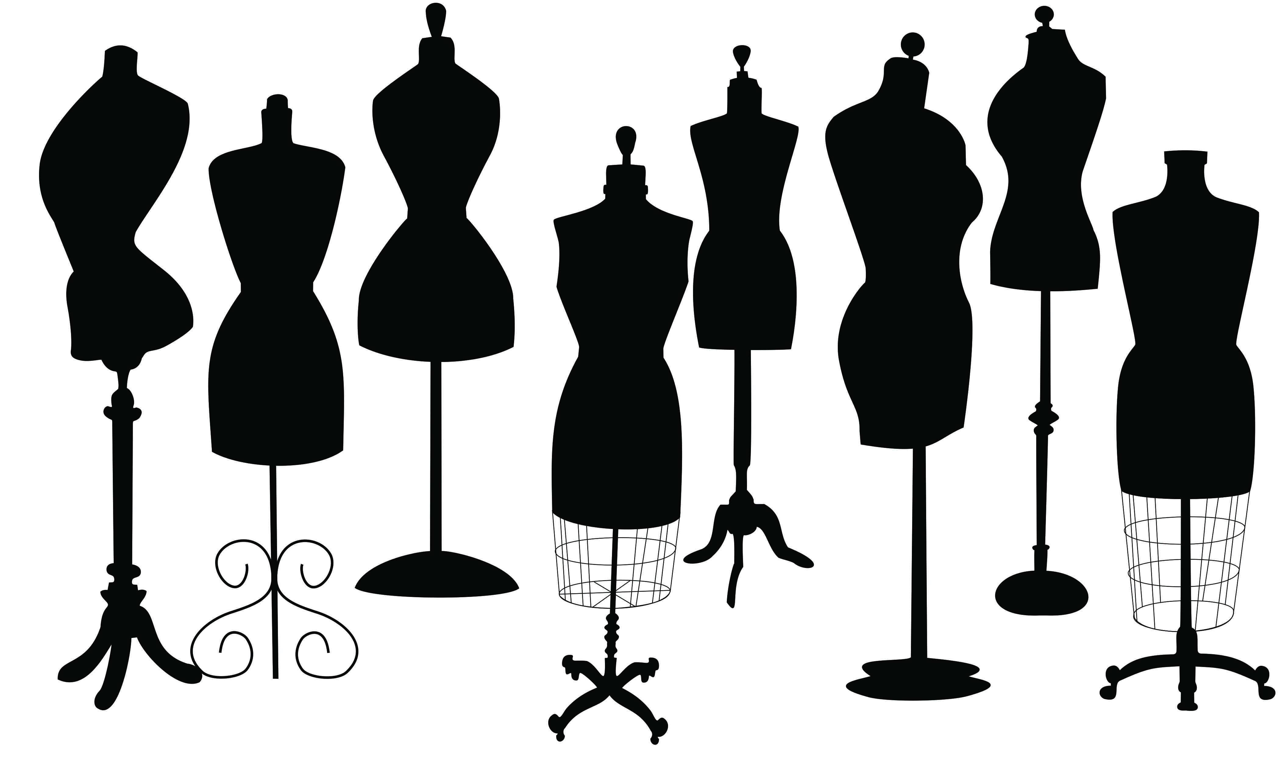 4200x2550 I Made Mannequin Silhouette By Corel Draw Technical Drawing