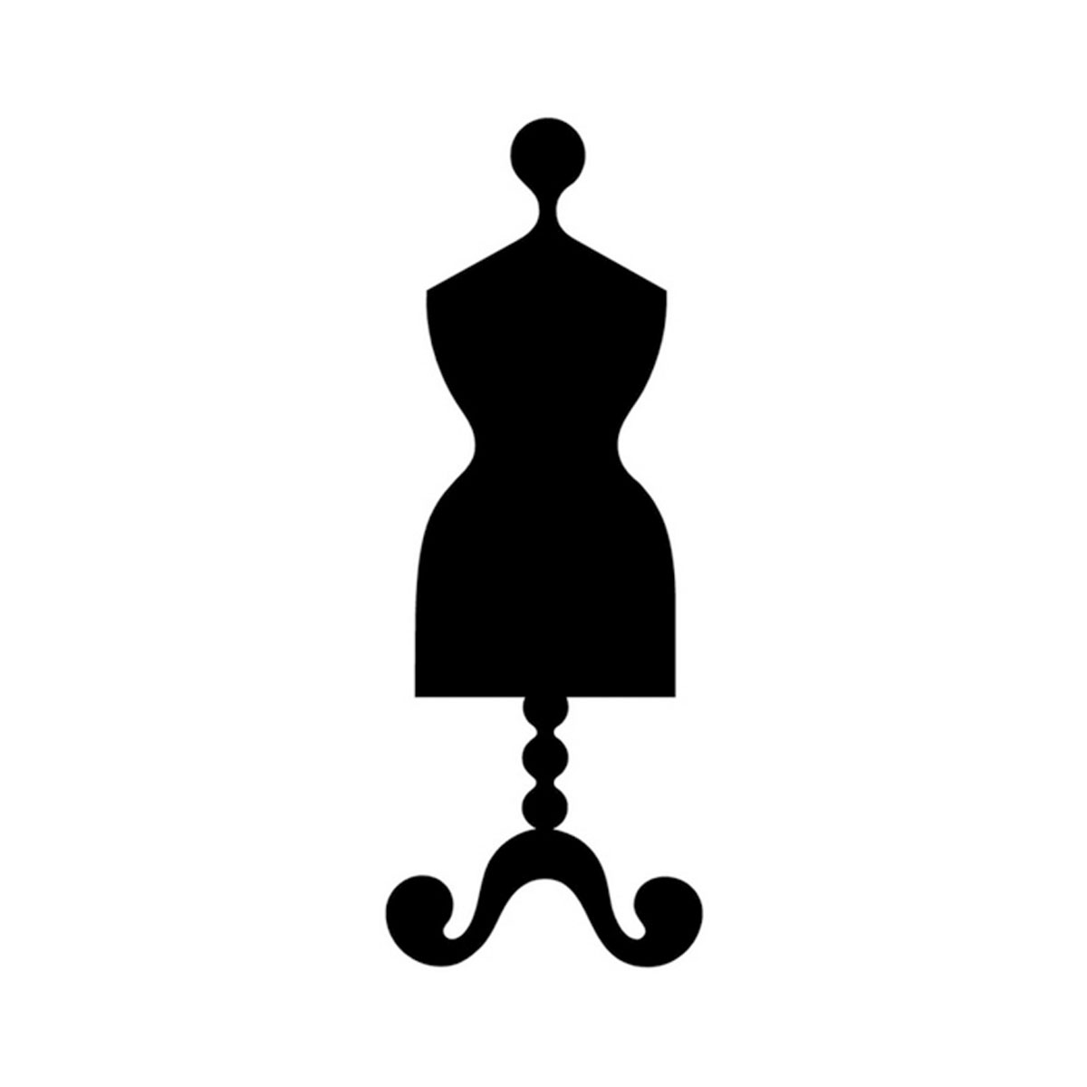 1200x1200 Black Dress Clipart Dress Mannequin