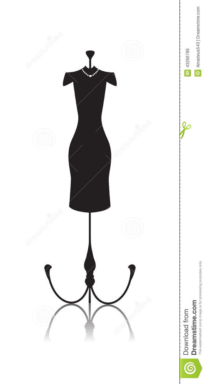 698x1300 Mannequin Doll Clipart