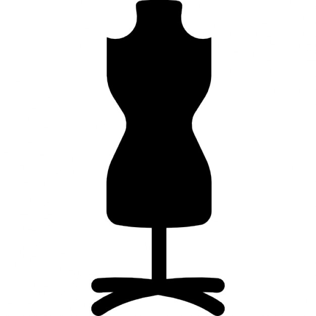 626x626 Mannequin With Stand Icons Free Download