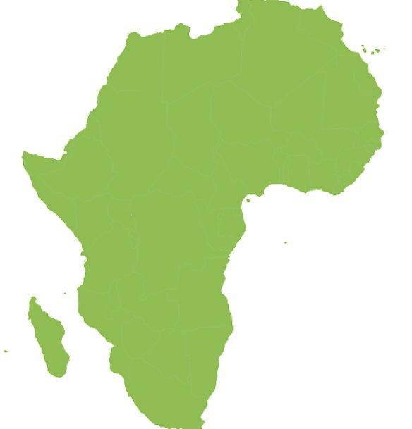 584x609 Map, Chart, Continent, Landmass, Africa, Rotated, Alternated