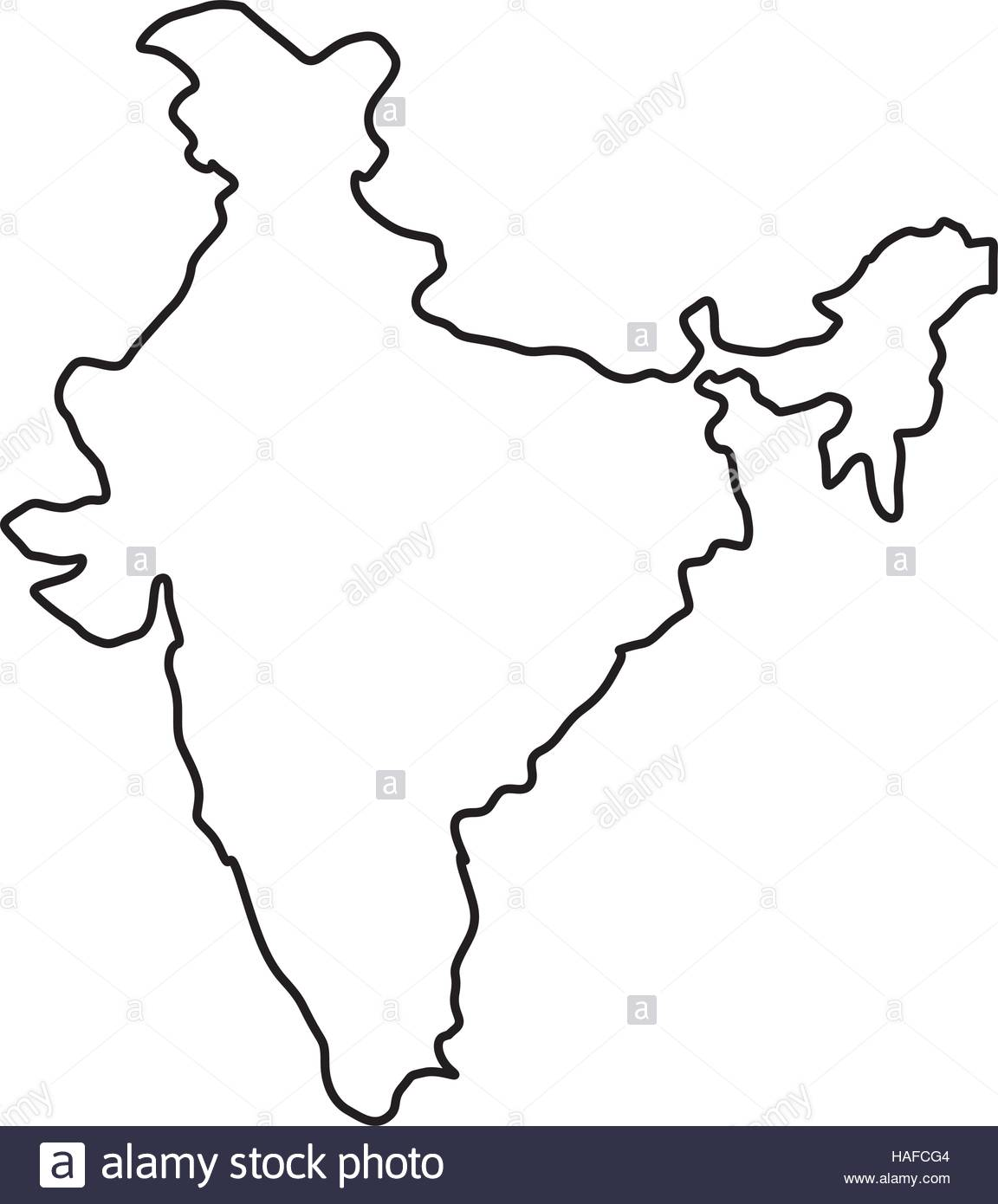 1152x1390 India Map Silhouette Stock Vector Art Amp Illustration, Vector Image
