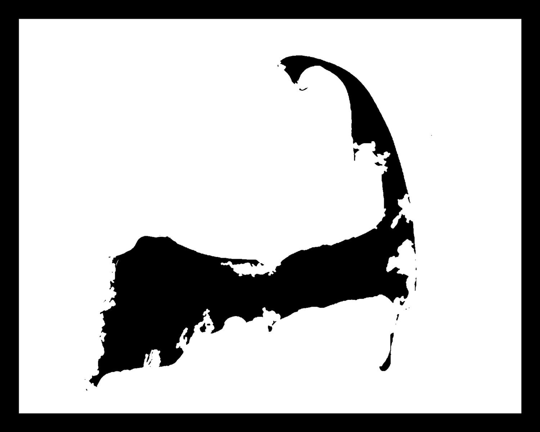 1500x1200 Cape Cod Map Clip Art