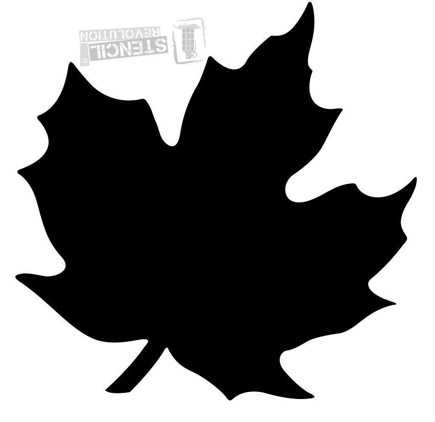 850x826 Maple Leaf Stencils Leaf Stencil, Stenciling And Revolution