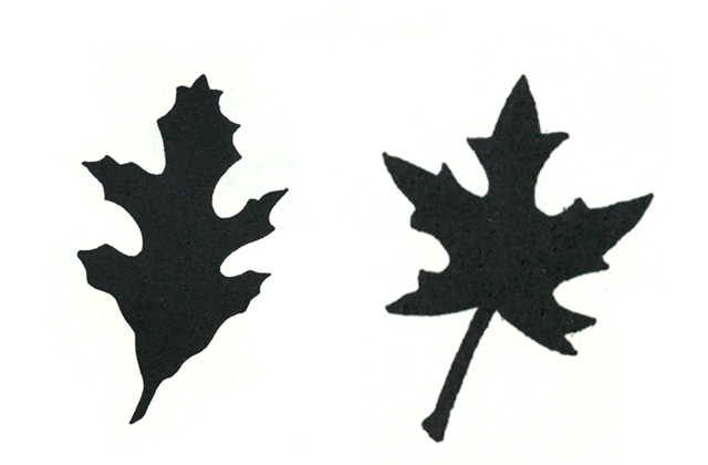 640x420 Leaf Silhouette Cliparts