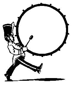 250x293 Marching Band Drummer Clipart Music Themed