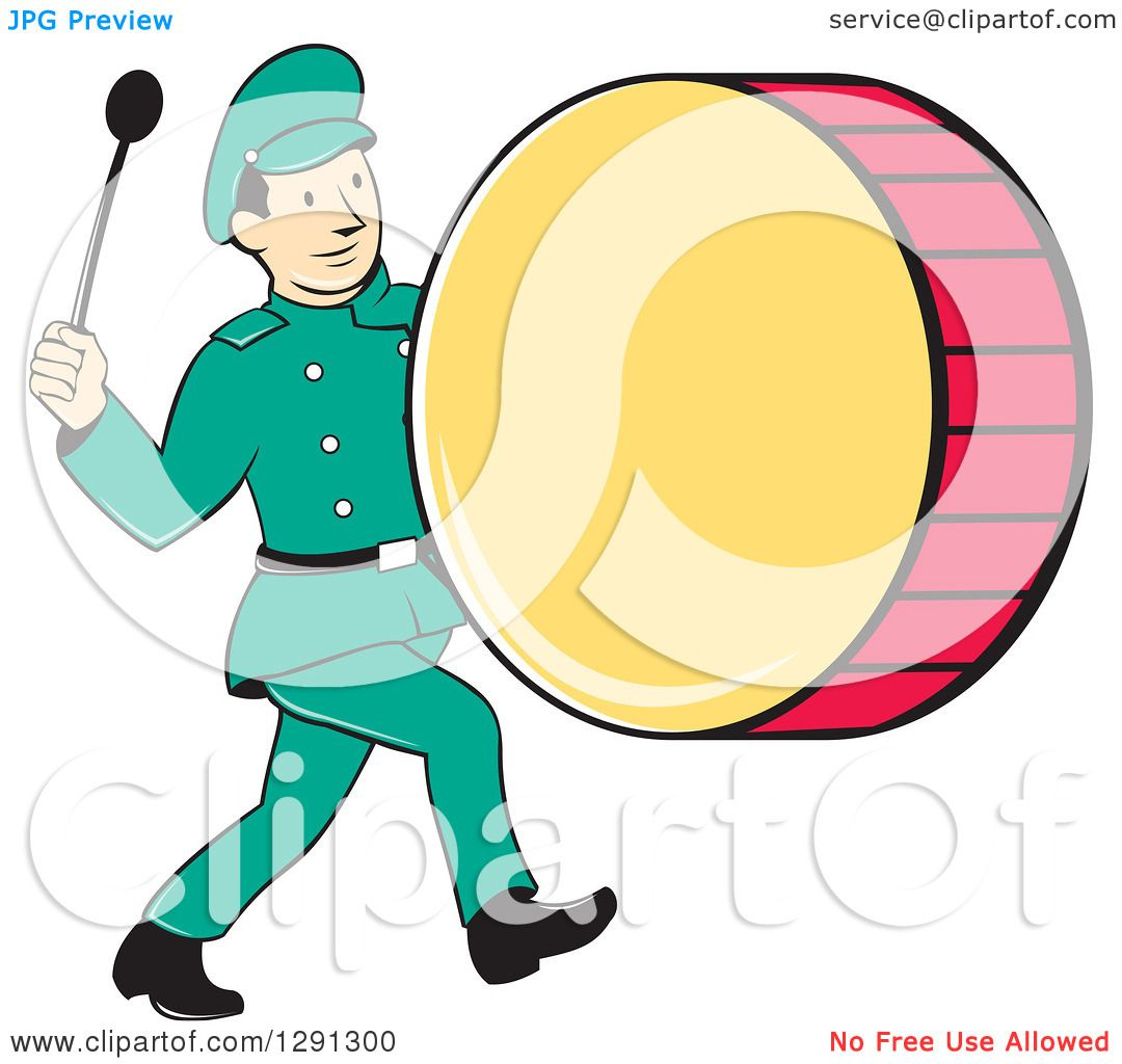 Marching Band Silhouette Vector