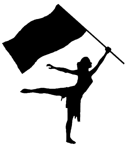 420x497 Marching Band Silhouette Cliparts